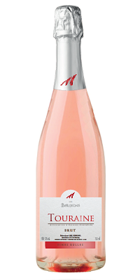 Touraine Rosé Méthode Traditionnelle fines bulles Brut et Demi-Sec